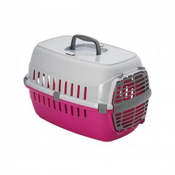Moderna Road Runner Cat Carrier Travel Crate Pink