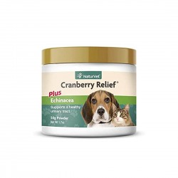 NaturVet Cranberry Relief Plus Echinacea Powder 50g