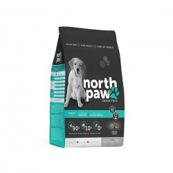 North Paw Puppy Dry Food Chicken & Herring 6lb