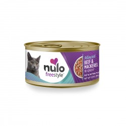 Nulo Freestyle Cat Canned Food Minced Beef & Mackerel 85g 1 ctn