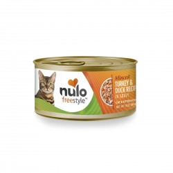 Nulo Freestyle Cat Canned Food Minced Turkey & Duck 85g 1 ctn