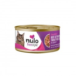Nulo Freestyle Cat Canned Food Shredded Beef & Trout 85g 1 ctn