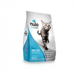 *Animal Lovers League* Nulo Freestyle Cat Food Adult Trim Grain Free Salmon and Lentils Recipe 12lb