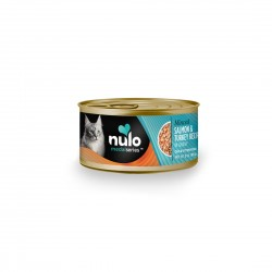 Nulo Freestyle Cat Canned Food Minced Salmon and Turkey Recipe in Gravy 3oz