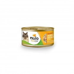 Nulo Freestyle Cat Canned Food Shredded Chicken and Duck Recipe in Gravy 3oz