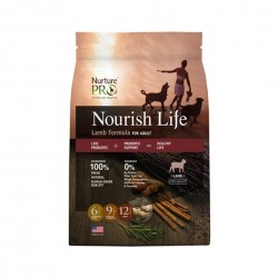 Nurture Pro Dog Dry Food Nourish Life Lamb Formula for Adult 26lb