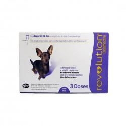 Revolution Parasiticide for Dog 3 Doses <2.5kg