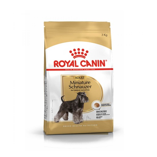 Royal Canin Dog Dry Food for Adult Miniature Schnauzer 3kg