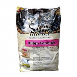 Sava Essentials Cat Food Kitten Formula 9kg
