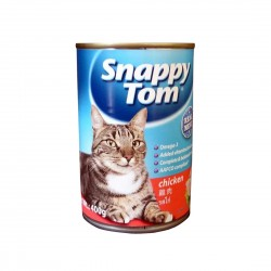 Snappy Tom Cat Canned Food Chicken 400g