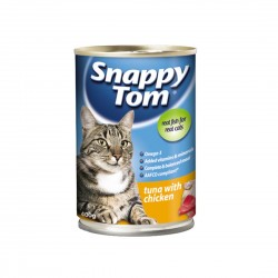 Snappy Tom Cat Canned Food Tuna with Chicken 400g