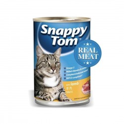 Snappy Tom Cat Canned Food Lamb 400g