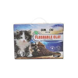 Sumo Cat Litter Flushable Clay Coffee 6kg