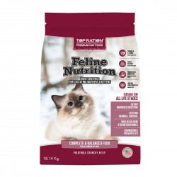 Top Ration Cat Dry Food Feline Nutrition All Life Stages 18.14kg