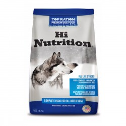 Top Ration Dog Dry Food Hi Nutrition All Life Stages 18.14kg
