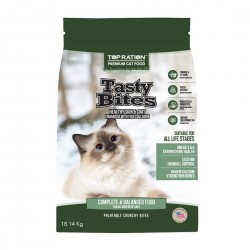 Top Ration Cat Dry Food Tasty Bites All Life Stages 18.14kg