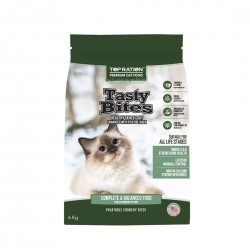 Top Ration Cat Dry Food Tasty Bites All Life Stages 6kg
