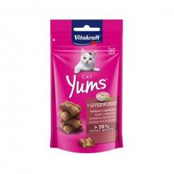 Vitakraft Cat Treat Cat Yums Liverwurst 40g