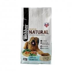Webbox Premium Natural Dog Food Lamb with Brown Rice 2.25kg