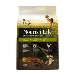 Nurture Pro Cat Dry Food Nourish Life Chicken Formula for Kitten & Adult Cat 1.8kg