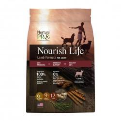 Nurture Pro Dog Dry Food Nourish Life Lamb Formula for Adult 12.5lb