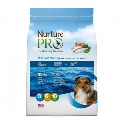Nurture Pro Dog Dry Food Original Herring for Young & Active Adult 12.5lb