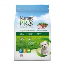 Nurture Pro Dog Dry Food Original Lamb for Puppy Small & Medium Breed 1.8kg