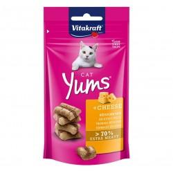 Vitakraft Cat Treat Cat Yums Cheese 40g