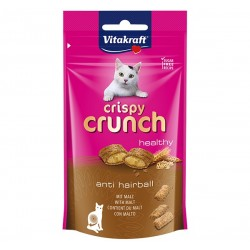 Vitakraft Cat Treat Crispy Crunch Healthy Malt for Anti HairBall 60g