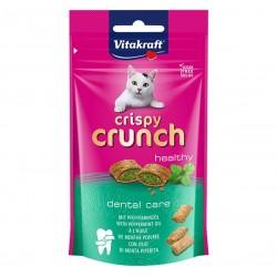 Vitakraft Cat Treat Crispy Crunch Healthy Peppermint for Dental Care 60g