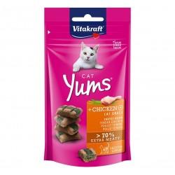 Vitakraft Cat Treat Cat Yums Chicken & Cat Grass 40g