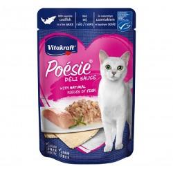 Vitakraft Cat Food Poesie DeliSauce Coalfish 85g