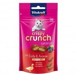 Vitakraft Cat Treat Crispy Crunch Duck & Aronia 60g